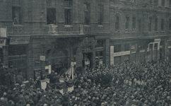 odhalení Rašínovy desky. -  Český svět 05.11.1925