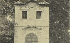 Pavilón v zámecké zahradě. - Český svět 5.10.1904.