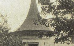 vež trubačů, park. -  Český svět 5.10.1904