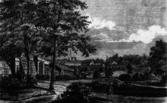 zahrada společnosti pro zvelebování zahradnictví - Světozor 11.6.1869