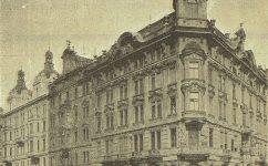 roh s Mikulášskou třídou. - Český svět 5.10.1904