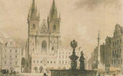 1864 Kresba Josef Vojtěch Hellich - Praha očima staletí (1984)
