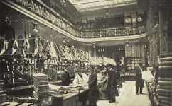 Obchodní palác U Nováků. - Český svět 24.11.1904.