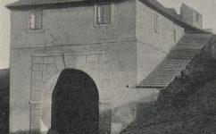 byt v bráně. - Český svět 10 .02.1906