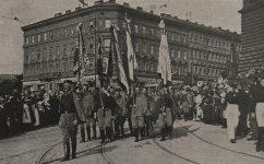 Wilsonova, slet sokolů. - Český svět 08.07.1920