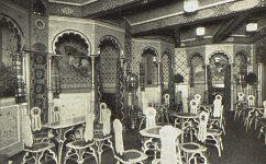 kavárna u Černé matky Boží. -  Český svět 14.2.1913