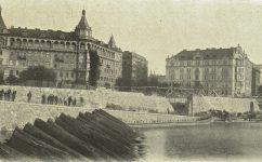 nový příjezd u Štítkovského náplavky. - Český svět 5.10.1904