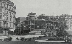 Stavba divadla. - Český svět 07.09.1906