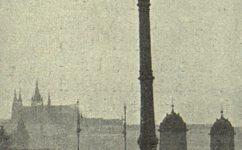 U žofínského můstku. - Český svět 12.1.1912