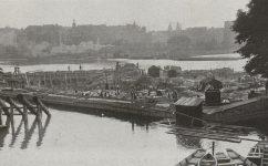 Stavba jímky pro komorové plavidlo u Žofína. -  Český svět 17.07.1914