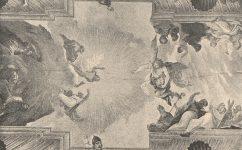 Universitní knihovna, malby od Jana Hinchla - Světozor roč. 5 č. 28