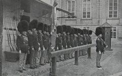 granátníci na stráži při návštěvě Františka Josefa I. - Český svět 10.05.1907