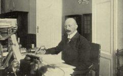 Hegert ve své pracovně - Světozor 22.09.1912