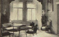 přijimací salón Vojáčka - Světozor 22.09.1912