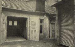 Štěpánská 4. garáže. - Světozor 31.01.1913