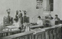 knihtiskárna Venta, účtárna -  Český svět 12.10.1908