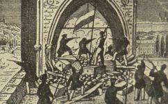 Barikáda u staroměstské mostecké věže - Světozor 21.06.1923