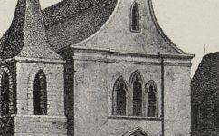 Betlémská kaple, zbořená 1786 -  Světozor 02.07.1915