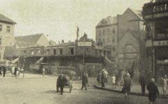 Bourání domu na Jungmanově nám -  Český svět 13.06.1929
