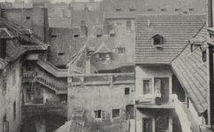 Dvůr v Hospodě U valšů - Světozor 09.04.1915