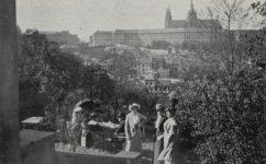 Glorieta Schonbornské zahrady - Světozor 08.05.1914