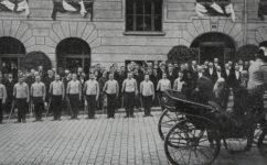 při návštěvě Františka Josefa I. - Český svět 10.05.1907