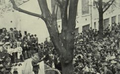 tábor v zahradě lidového domu - Český svět 10.05.1912