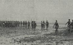 vojenská slavnost, defilé před Masarykem - Český svět 24.04.1919