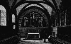Na Slovanech královská kaple - Světozor 7.4.1882