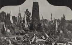 čestný hrob padlých u Zborova - Český svět 28.7.1922