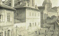 Platnéřská a Rudolfovo nábřeží - Světozor 09.07.1909