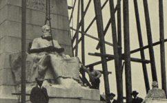 Stavba Palackého pomníku - Český svět 26.5.1911