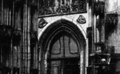 Týn, severní vchod - Světozor 26.7.1867