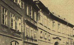 palác Palfyů -  Světozor 25.04.1917