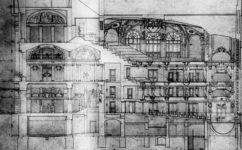 Soutěžní návrh Balšánka - Divadelní architektura