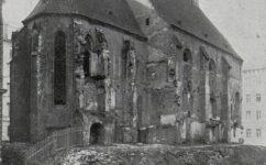 rekonstrukce kostela sv. Václava - Český svět 26.08.1910