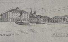 návrh na úpravu Palackého náměstí. - Český svět 27.04.1917