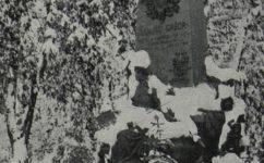 Hrobka Juliuse Grégra - Český svět 14.11.1919