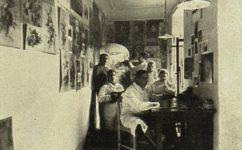 česká technika, ortopedický ústav -  Světozor 06.09.1916