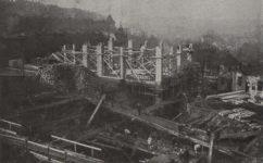 stavba památníku osvobození - Světozor 17.05.1928