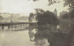 Budoucí zdymadlo u Židovského ostrova - Světozor 13.10.1912
