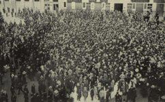 demonstrace proti drahotě - Český svět 22.9.1911