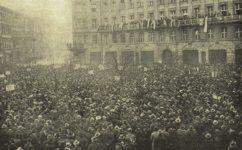oslava převratu národními socialisty - Český svět 18.11.1920