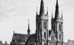 Mikš, návrh kostela - Světozor 7.7.1899