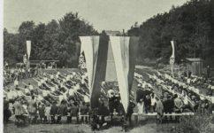 veřejné sokolské cvičení - Světozor 25.07.1913