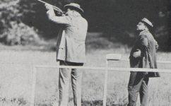 závod ve střelbě holubů -  Český svět 13.6.1913
