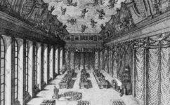 výstava průmyslových výrobků při návštěvě Františka I. v roce 1833. - Světozor 20.3.1891