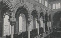 Nová synagoga - Český svět 25.08.1906