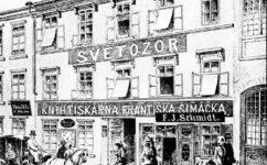 redakce Světozoru - Světozor 3.9.1886