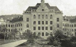 nová budova karlínských škol -  Český svět 22.9.1905